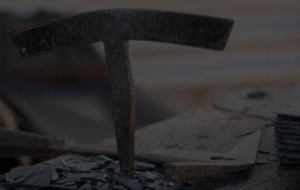 Des outils pour travailler l'ardoise